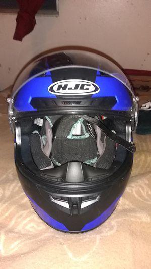 Hjc motorcycle helmet L. 7½- 7⅝ for Sale in Denver, CO