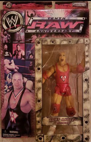 "New WWE Kurt Angle ""Raw 10th Anniversary"" Action Figure. for Sale in Apopka, FL"
