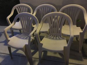 5 chairs for Sale in Madera, CA