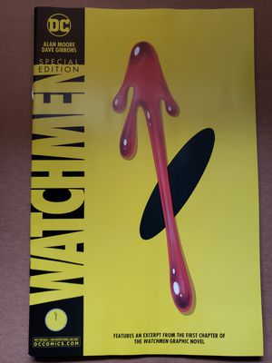 DC Watchmen SDCC 2019 Exclusive Comic for Sale in Los Angeles, CA