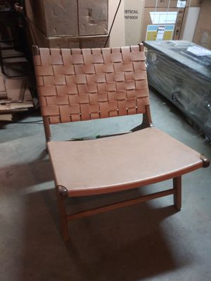 New Wisteria Woven Leather Chair for Sale in Aspen Hill, MD