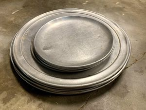 Stainless steel pizza pans for Sale in Raleigh, NC