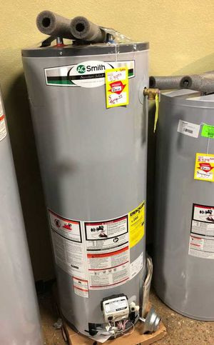 Brand New AO Smith 40 Gallon Gas Water Heater 7K8 for Sale in Los Angeles, CA
