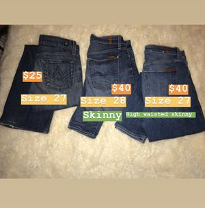 7 jeans All mankind for Sale in Fresno, CA
