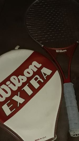 Wilson extra tennis racket for Sale in Dallas, TX
