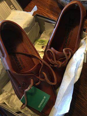 Mephisto Men's Hurrikan Boat Shoe NIB-9.5 Retail $320. for Sale in Sterling, VA