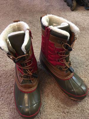 Lands End Kids Unisex Snow Boots , Size 3 for Sale in Naperville, IL
