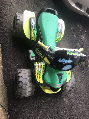 Kids kawasaki ninja 4 wheels for Sale in Alexandria, VA
