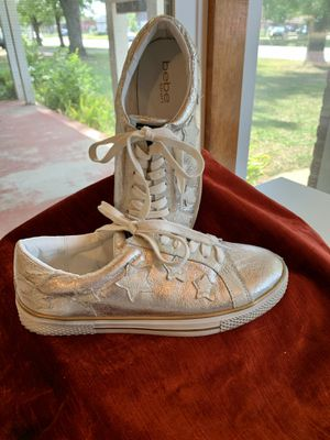 Bebe Sport Fashion Sneakers, Women's Size 8, worn once for Sale in Wichita, KS