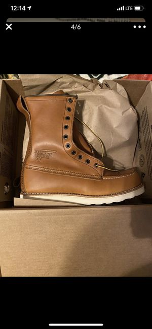 Red Wing work boots for Sale in Irving, TX