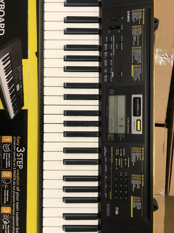 Casio keyboard 🎹