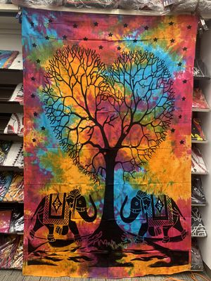 Pure Cotton Home Decorative tapestry 80inches x 50 inches for Sale in Campbell, CA