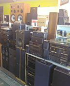 Vintage Stereo Speakers and Receivers & Subwoofers for Sale in Atlanta, GA