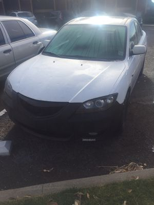 Mazda 3 part out fogs cold air intake aftermarket grill halo/led headlights for Sale in Arvada, CO