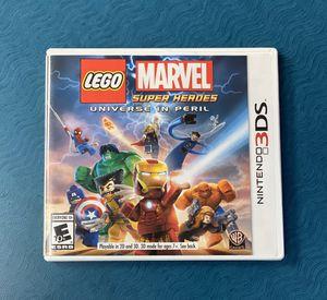 Lego marvel super heroes universe peril Nintendo 3ds for Sale in Vista, CA