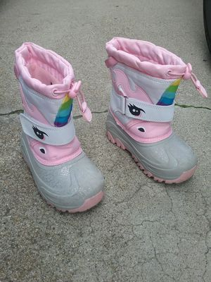 Snow boots, kids 10 for Sale in San Jose, CA