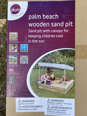 Plum palm beach wooden sand pit for Sale in Hudson, FL