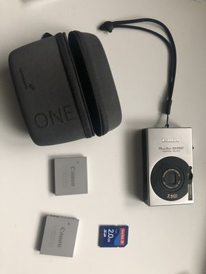 Cannon Camera Kit for Sale in Alexandria, VA