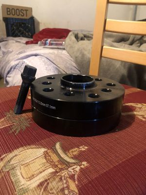 5x100/5x112 25mm Spacers VW 57.1 hub for Sale in San Jose, CA