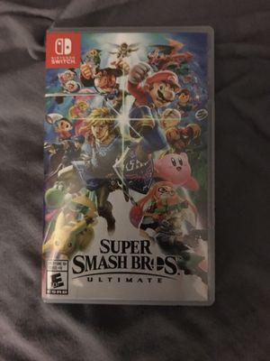 Super Smash Bros Ultimate for Nintendo Switch for Sale in Santa Ana, CA