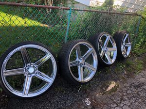 """24"""" Rims and tires for Sale in Boston, MA"""