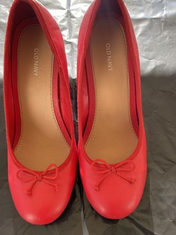 Red Old Navy Wedge High Heel Shoes for Sale in Rock Hill,  SC
