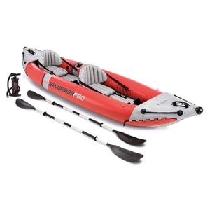 INTEX EXCURSION PRO INFLATABLE KAYAK BOAT COMPLETE SET ***** FISHING ***** for Sale in Fremont, CA