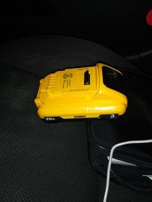 Brand new 20v dewalt battery for Sale in Vacaville, CA