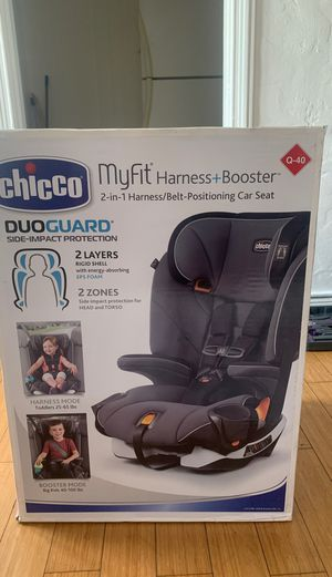 BRAND NEW!!! (Car Seat) Chicco MyFit Harness & Booster for Sale in Los Angeles, CA