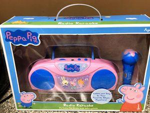 Peppa Pig Radio Karaoke for Sale in Pico Rivera, CA