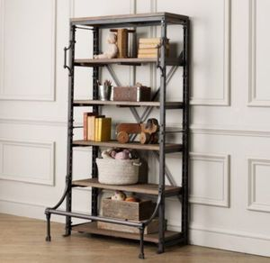 Restoration Hardware French Library Bookcase Double Shelving for Sale in Columbus, OH