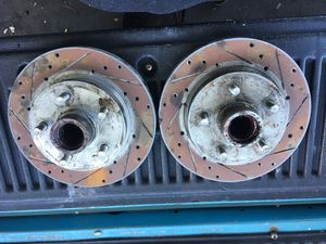Drilled an slotted rotors for Sale in Spring Valley, CA