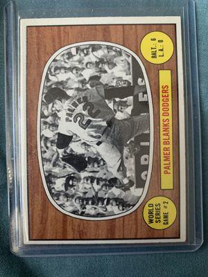 1967 Jim Palmer baseball card for Sale in El Paso, TX