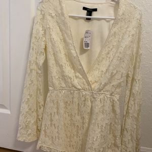 White Lace Romper NWT for Sale in Hollywood, FL