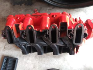 Trailblazer SS ls2 cathedral intake! Chevy red painted for Sale in Bradenton, FL