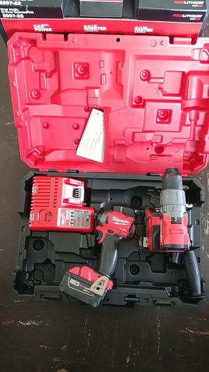 Milwaukee M18 FUEL HAMMER. DRILL IMPACT DRIVER NEW for Sale in Silver Spring, MD