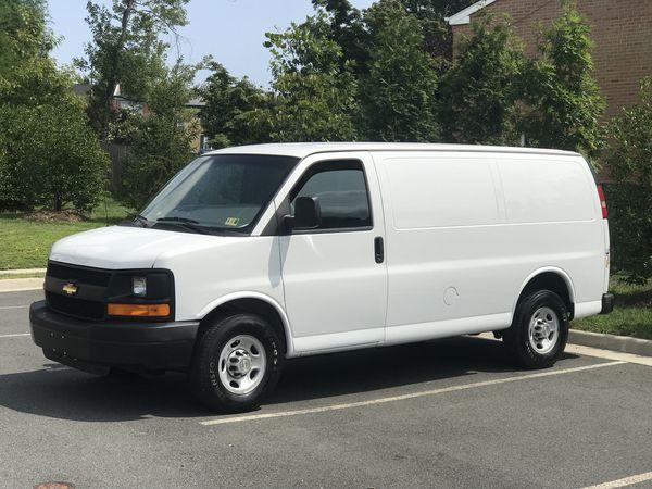 2014 Chevy Express g2500 Cargo van