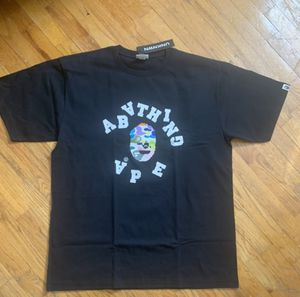 Bape 2XL Scramble Multi Color Tee Shirt T shirt A Bathing Ape Rare DS for Sale in Akron, OH
