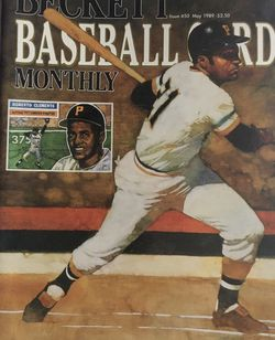 Beckett May 1988 issue # 50 Front Cover Roberto Clemente Back Cover Jose Canseco 40/40 Club. for Sale in Boston,  MA