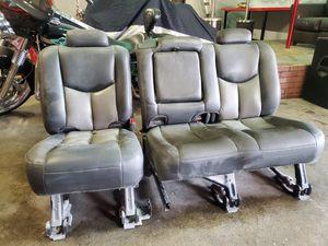 Silverado quad cab leather rear seats for Sale in Hayward, CA