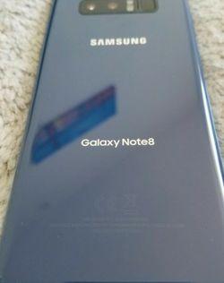 Fantastic condition Unlocked 64GB Samsung Galaxy note 8 Blue for Sale in Miami,  FL