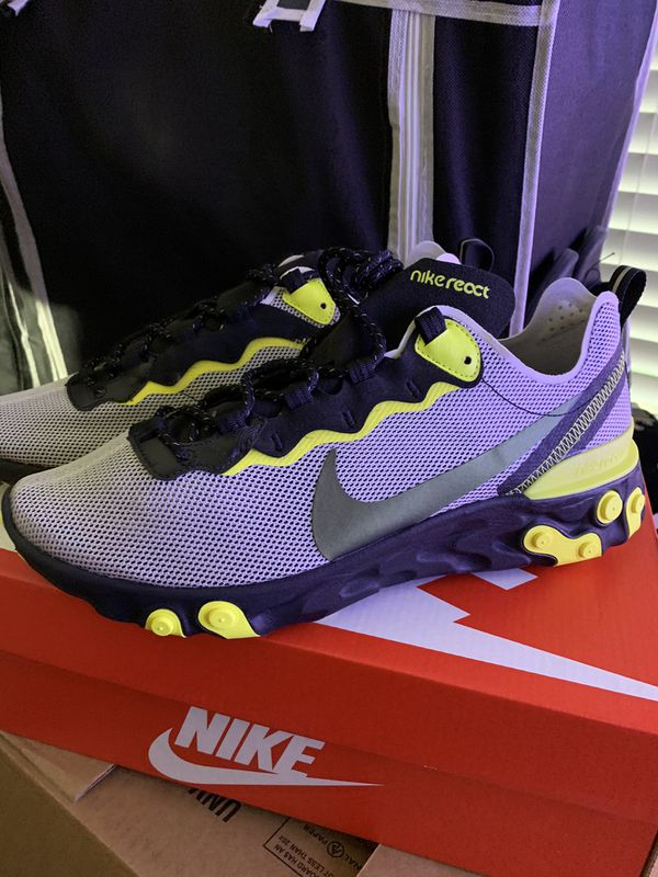 React element 55 dynamic yellow size 9.5