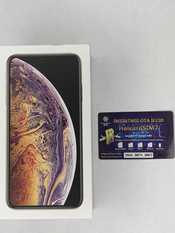 Apple iPhone XS Max 64GB Gold Rsim Chip Unlocked BRAND NEW for Sale in  Orlando, FL - OfferUp