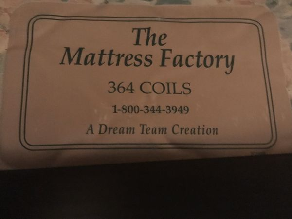 Spring Mattress and Box Spring Queen Size
