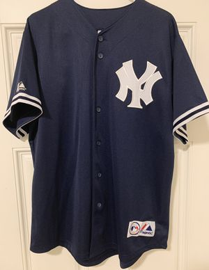 Vintage NY Yankees Majestic A-Rod Jersey (Size - Large) for Sale in Long Beach, CA