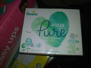 Pampers wipes 6 bags 10 dollars for Sale in Mesa, AZ