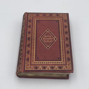 The Battle History of Scotland: Tales of Chivalry and Adventure by Charles Alfred Maxwell (First Edition, 1869) for Sale in Orlando, FL