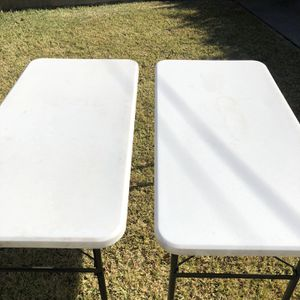 Two folding tables for Sale in Los Angeles, CA