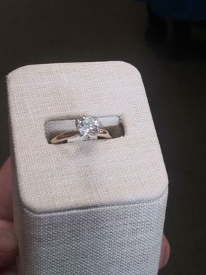 Diamond and gold engagement ring for Sale in Buffalo, NY