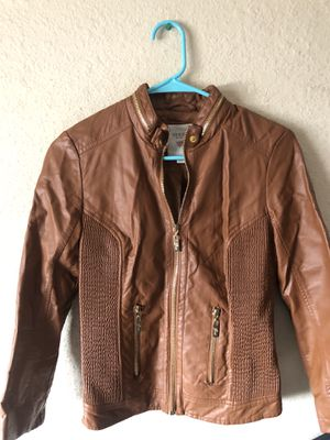 Guess leather jacket for Sale in Lemon Grove, CA